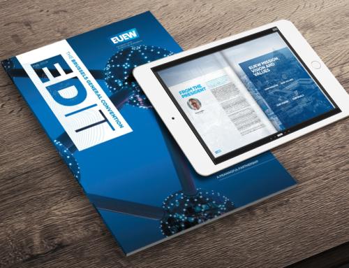 EUEW is proud to launch EDIT Magazine
